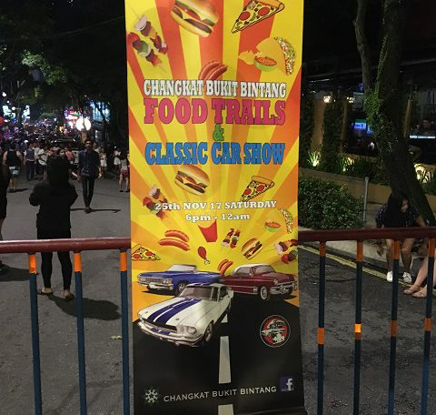 Changkat Bukit Bintang – Food Trails & Classic Car Show