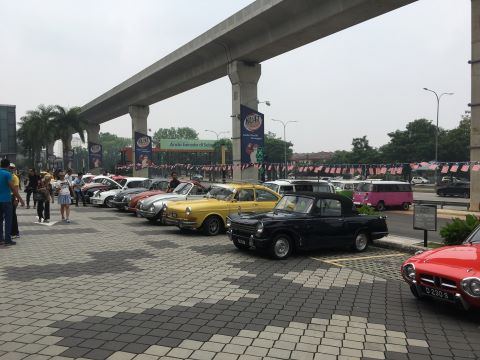 KVBM & MY Classic Cars Charity Event at SUMMIT USJ on 15 September 2019