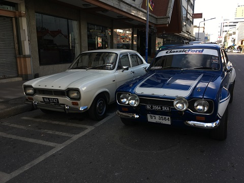 Solo Drive to Penang & Thailand – Ford Escort Mark 1